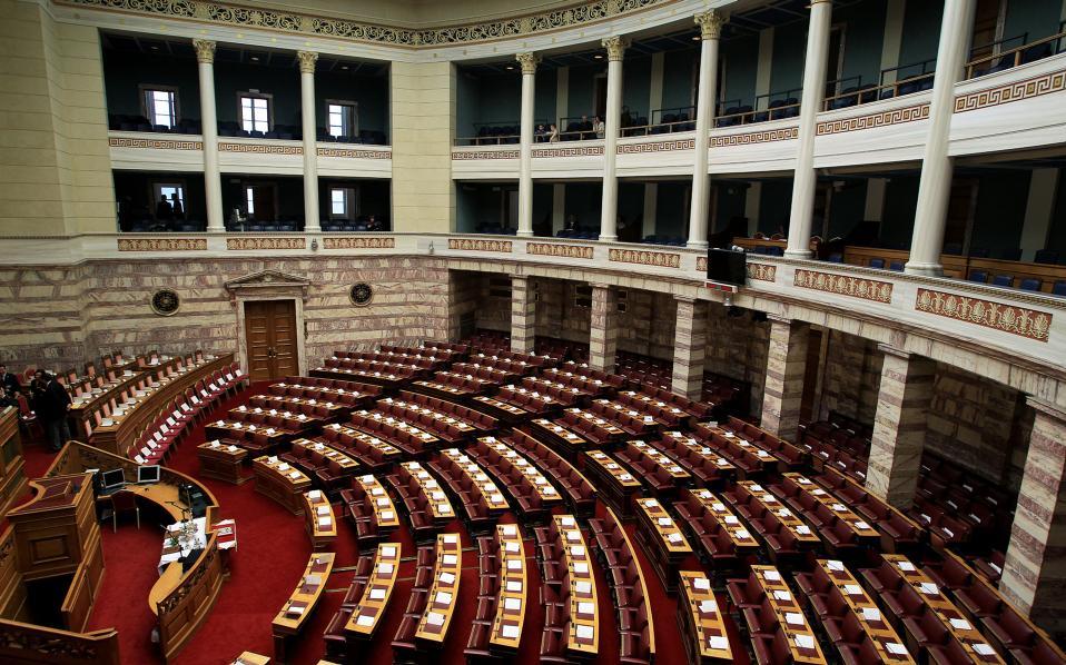 Νέα επ' αόριστον αναβολή της συζήτησης της επίκαιρης ερώτησης του Χ. Αθανασίου για τη διάσπαση του Δήμου Λέσβου