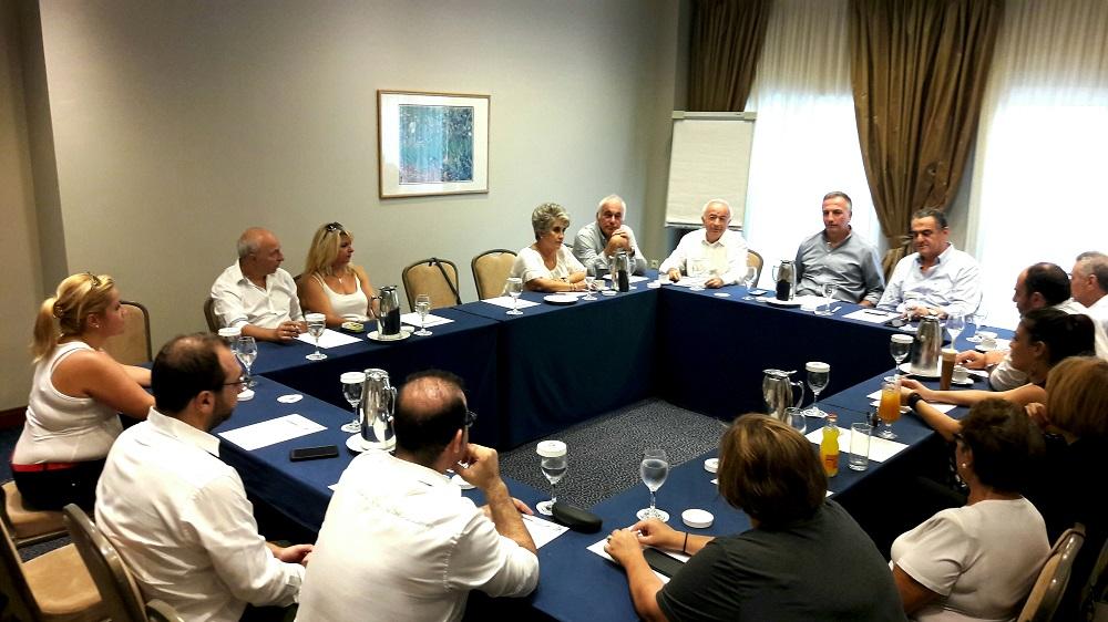 Συνάντηση Αθανασίου - Καλαφάτη με την Παλλεσβιακή Ένωση Θεσσαλονίκης και τον Πολιτιστικό Σύλλογο Λημνιών