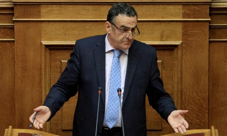 Ομιλία Αθανασίου στη Βουλή για τη διάσπαση του Δήμου Λέσβου