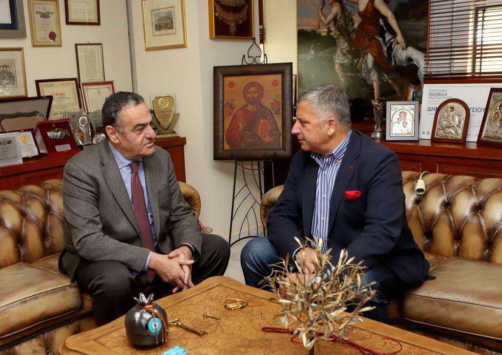 Συνάντηση Αθανασίου με τον Πρόεδρο της ΚΕΔΕ κ. Πατούλη
