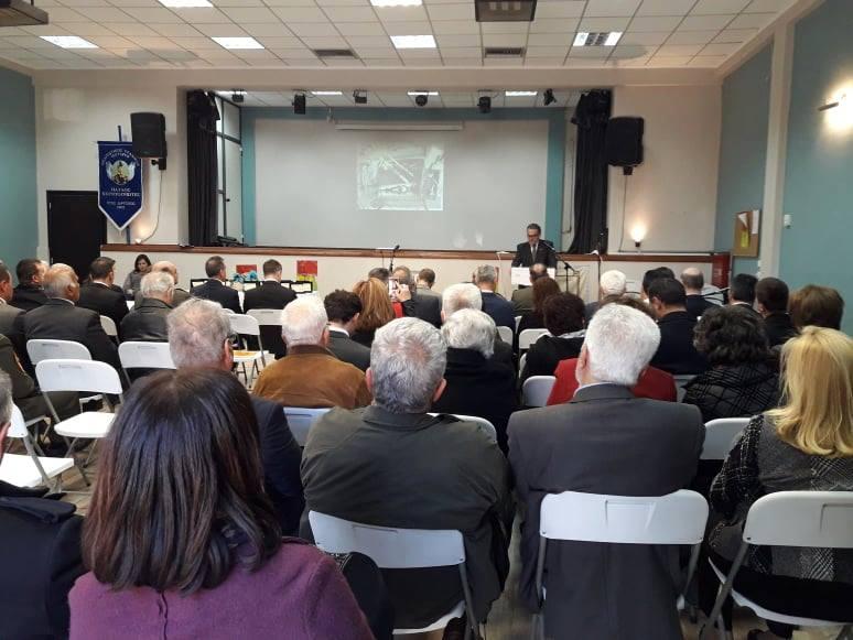 Ομιλία Αθανασίου για τη Μάχη της Καλλίπολης