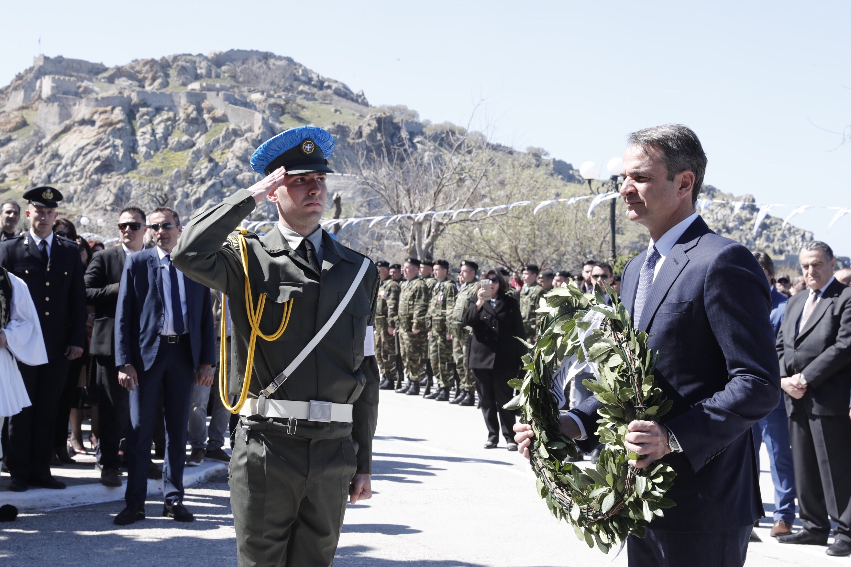 Επίσκεψη του Προέδρου της Ν.Δ. Κυριάκου Μητσοτάκη στη Λήμνο