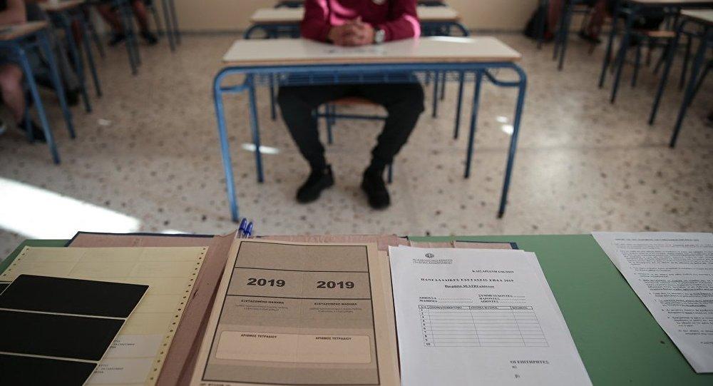 Μήνυμα Αθανασίου για τις Πανελλήνιες Εξετάσεις