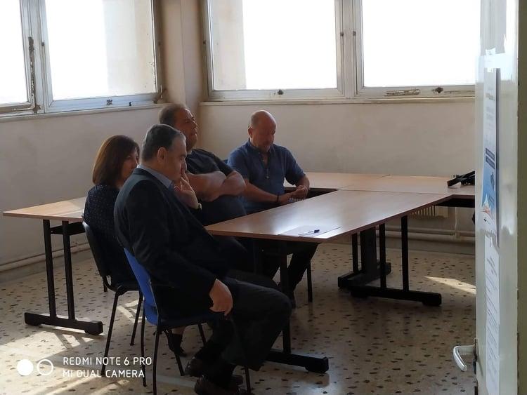 Επίσκεψη Αθανασίου στο Πλωμάρι Λέσβου