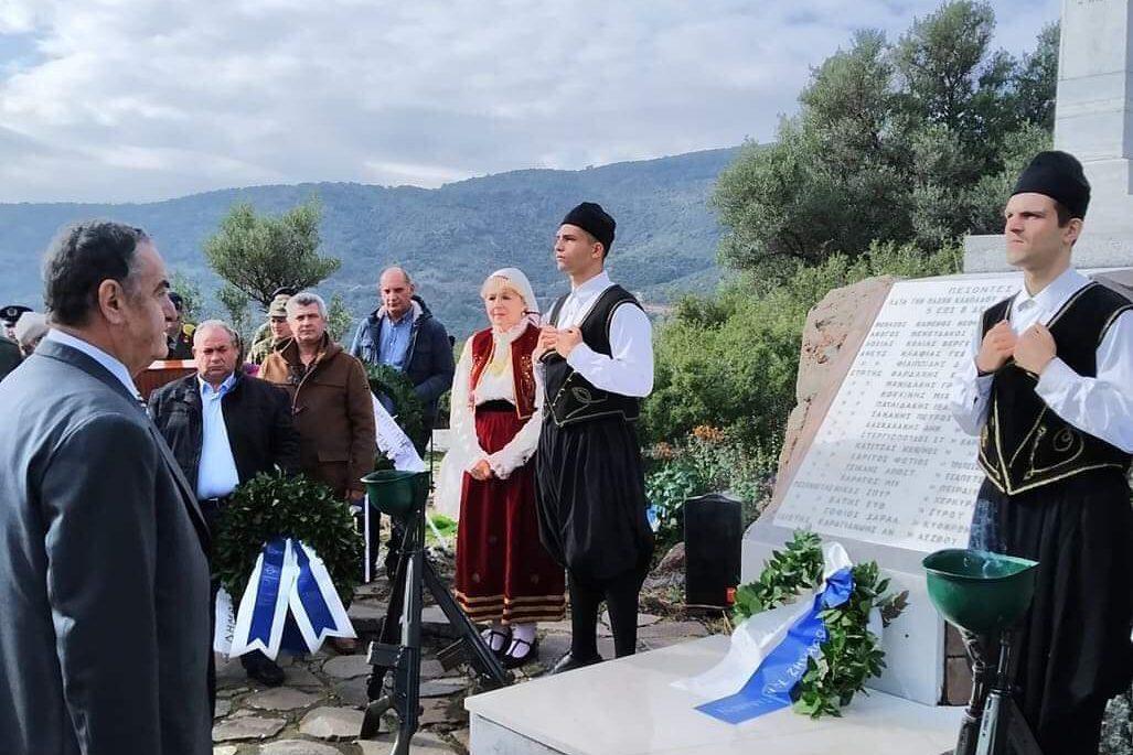 Εκδηλώσεις για την επέτειο της μάχης του Κλαπάδου και της Απελευθέρωσης της Λέσβου από τον Οθωμανικό Ζυγό.