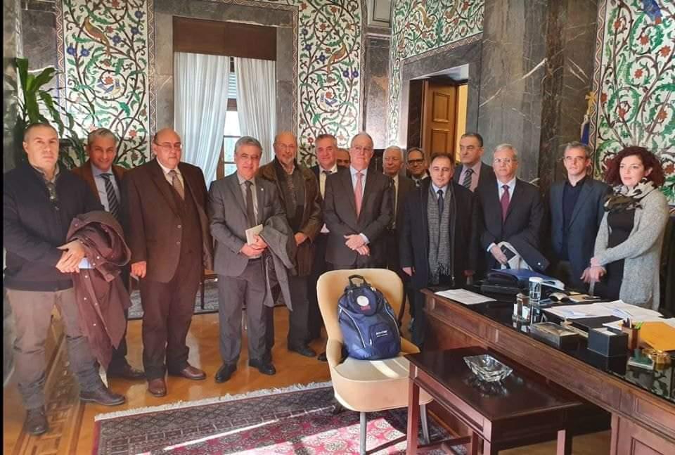 Κατάθεση ψηφίσματος στον Πρόεδρο της Βουλής των Ελλήνων κ. Τασούλα Κωνσταντίνο της Περιφέρειας Βορείου Αιγαίου, σχετικά με τη μεταναστευτική κρίση