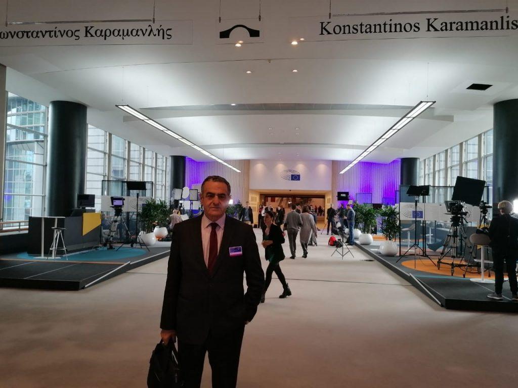 Εκπροσώπηση της Βουλής των Ελλήνων στις εκδηλώσεις μνήμης του Ολοκαυτώματος, στο Ευρωπαϊκό Κοινοβούλιο