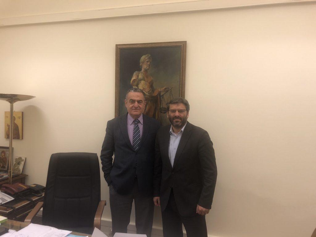 Συνάντηση με τον Δήμαρχο Λήμνου κ. Δημήτρη Μαρινάκη