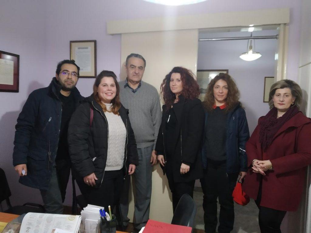 Συνάντηση Χαράλαμπου Αθανασίου με αντιπροσωπεία των 47 συμβασιούχων του ΚΥΤ Μόριας που εργάζονται στην Υπηρεσία Υποδοχής και Ταυτοποίησης του Υπουργείου Μετανάστευσης