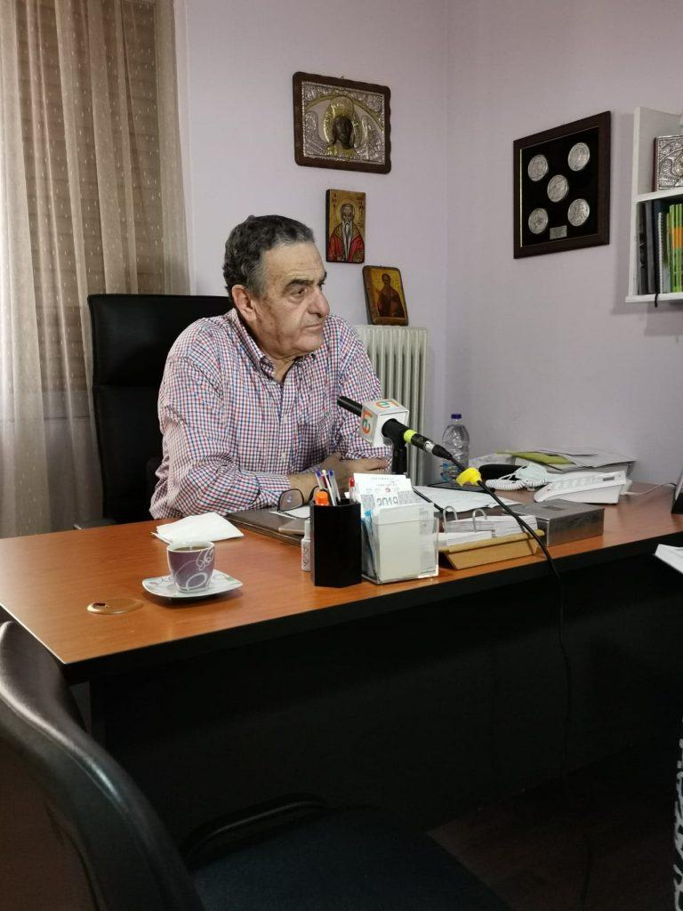 Συνέντευξη στην εφημερίδα Εμπρός για τα έργα που δρομολογούνται