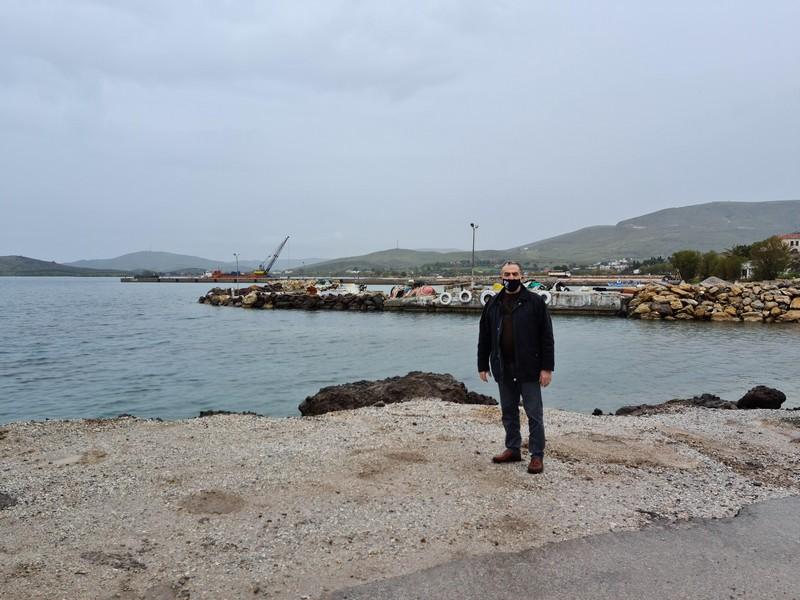 Στα έργα του οδικού άξονα Καλλονής-Σιγρίου ο Αθανασίου