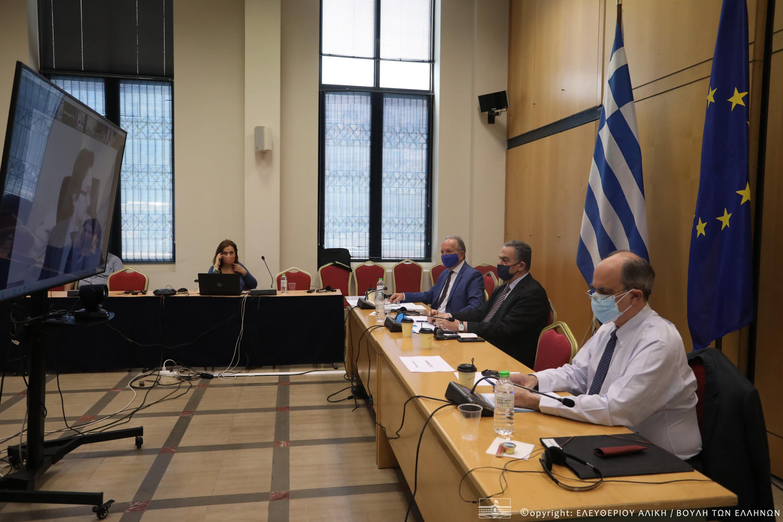 Τηλεδιάσκεψη της Κοινοβουλευτικής Ομάδας Φιλίας Ελλάδας-Εσθονίας με την αντίστοιχη του Κοινοβουλίου της Εσθονίας