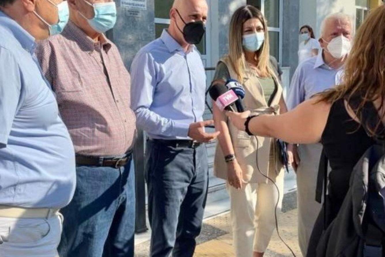 Τη Λέσβο επισκέφθηκαν ο Υφυπουργός Περιβάλλοντος, Γιώργος Αμυράς και η Υφυπουργός Τουρισμού, Σοφία Ζαχαράκη