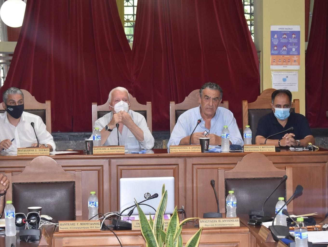 Σύσκεψη των αρμοδίων υπηρεσιών και φορέων στη Μυτιλήνη, με θέμα την εξέταση της ετοιμότητας των υπηρεσιών σε περίπτωση εκδήλωσης πυρκαγιάς