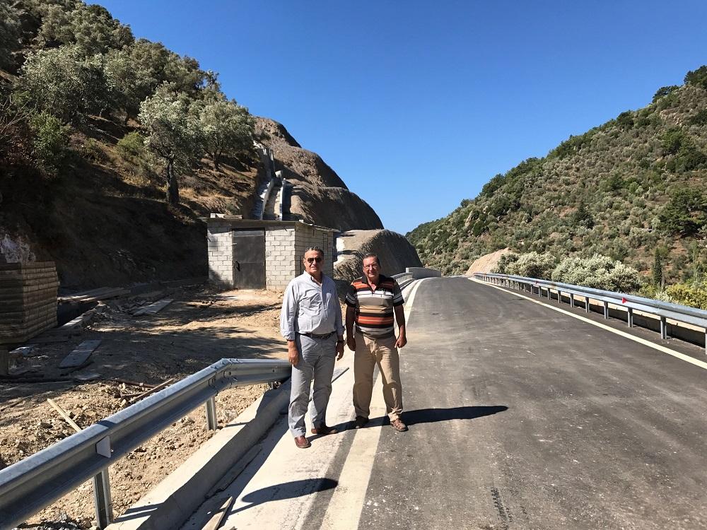 Αίσια έκβαση για το δρόμο Πλωμαρίου – Παπάδου (Παράκαμψη Λαγκάδας)