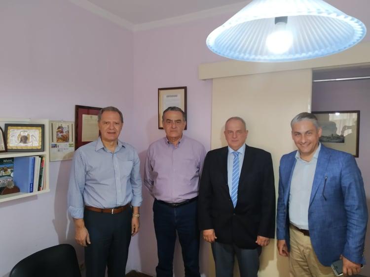 Συνάντηση με τον Πρόεδρο του ΕΛΓΟ – ΔΗΜΗΤΡΑ καθηγητή κ. Σέρκο Χαρουτουνιάν