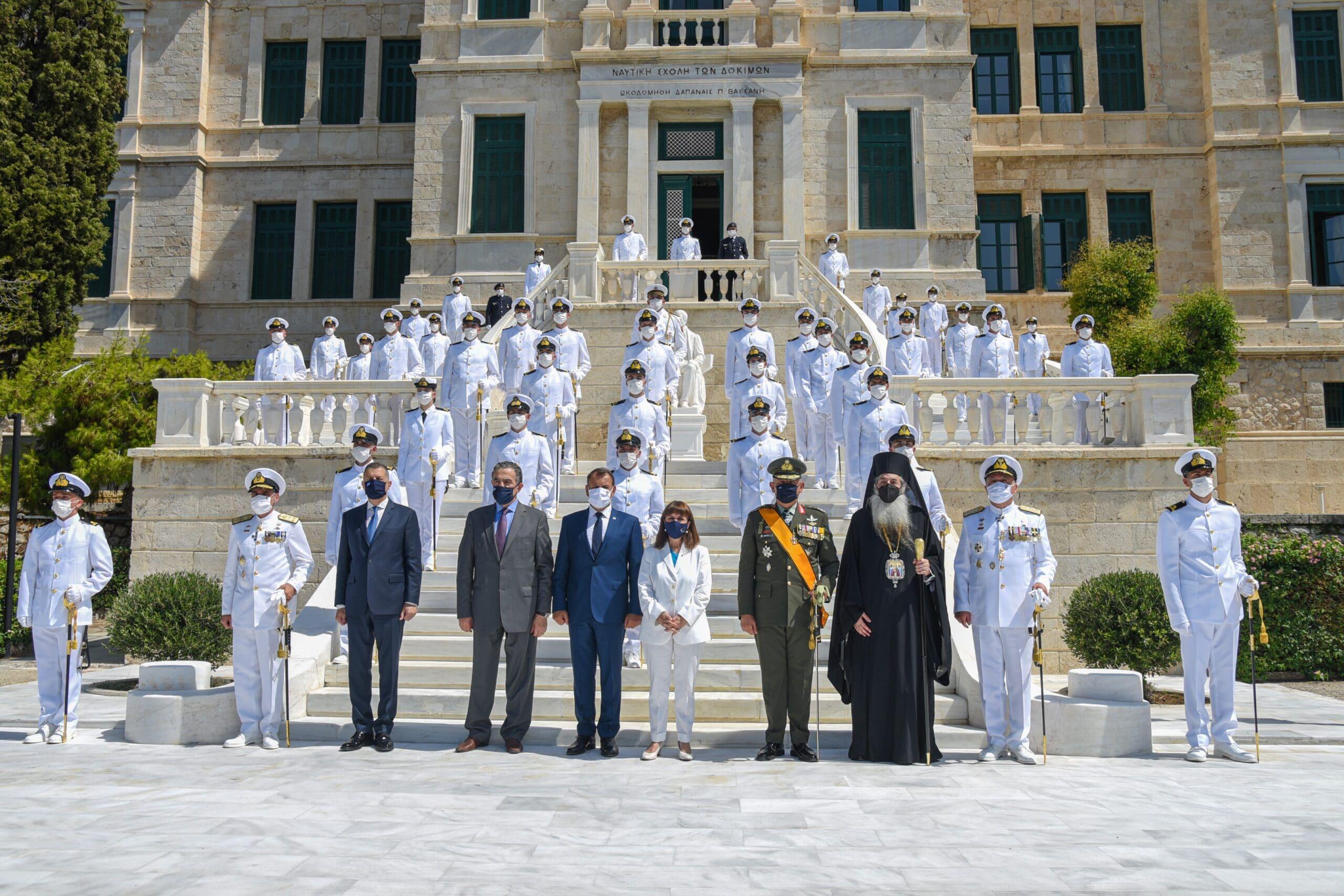 Εκπροσώπηση του Ελληνικού Κοινοβουλίου στην τελετή ορκωμοσίας των νέων Σημαιοφόρων τάξεως 2021